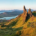 Old Man Of Storr - Pano by Brian Jannsen
