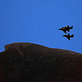 Old Man Of The Mountain Flyover by Richard Griffis