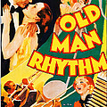 Old Man Rhythm, Us Poster, From Top by Everett