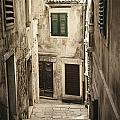 Old Medieval Alley by Mythja  Photography