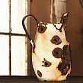 Old Metal Pitcher by Art Block Collections