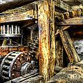 Old Mill Cogs by Paul Mashburn