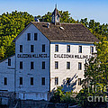 Old Mill In Caledonia Ontario by Les Palenik