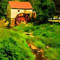 Old Mill In Springtime by Cliff Wassmann