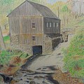 Old Mill by Peggy Clark