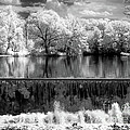 Old Mill Pond In Infrared by Paul W Faust -  Impressions of Light