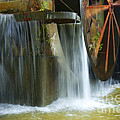 Old Mill Water Wheel by Paul W Faust -  Impressions of Light