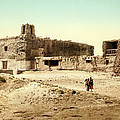 Old Mission Church At Acoma by William Henry Jackson