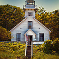 Old Mission Point Light House 02 by Thomas Woolworth