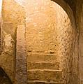 San Antonio Texas Concepcion Mission Stairs by JG Thompson