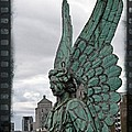 Old Montreal Angel Filmstrip by Alice Gipson