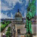 Old Montreal Angel II by Lee Dos Santos