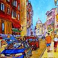 Old Montreal by Carole Spandau