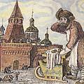 Old Moscow - Bubliki by Tatiana Lyskova