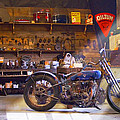 Old Motorcycle Shop 2 by Mike McGlothlen