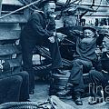 Old Navy Aboard The U S S Mohican In 1888 by California Views Archives Mr Pat Hathaway Archives
