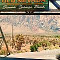 Old Nevada Entrance by Lisa Byrne