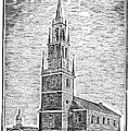 Old North Church, 1775 by Granger