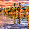 Old North Shore Yacht Club At Salton Sea by Dominic Piperata