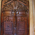 Old Ornamented Door by Christiane Schulze Art And Photography