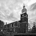 Old Otterbein Church In Black And White by Bill Swartwout Fine Art Photography