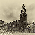 Old Otterbein Church Olde Tyme Photo by Bill Swartwout Fine Art Photography