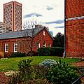 Old Otterbein Nelker Sunday School Building by Bill Swartwout Fine Art Photography