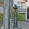 Old Petrol Pumps Stockbridge by Terri Waters