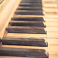 Old Piano Keys by Edward Fielding