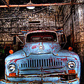 Old Pickup Truck Hdr by Amy Cicconi
