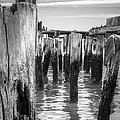 Old Pier In Provincetown Cape Cod by Brian Caldwell