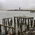 Old Pier In Siglufjordur by For Ninety One Days