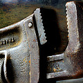 Old Pipe Wrench by Michael Eingle
