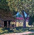 Old Plantation Tool House by Frank Morrison