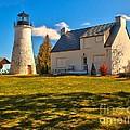 Old Presque Isle Lighthouse by Nick Zelinsky