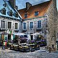 Old Quebec City by Mel Steinhauer
