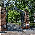 Old Queens Entrance Gate by Allen Beatty