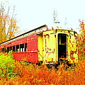 Old Rail Car by Alan Lampson