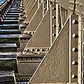 Old Railway Bridge In The Netherlands by Guna Andersone