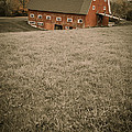Old Red Barn by Edward Fielding