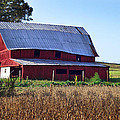 Old Red Barn Near Etowah Nc by Duane McCullough