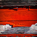 Old Red Barn Three by Bob Orsillo