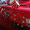 Old Red Chevy Dash by Tikvah's Hope