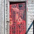 Old Red Door by Boss Photographic