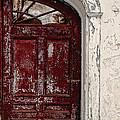 Old Red Door by Edward Fielding