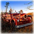 Old Red Fire Truck by K Scott Teeters