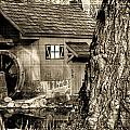 Old Red Mill by Melvin Busch