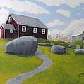 Old Red Schoolhouse by Lisa MacDonald