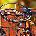 Old Red Tractor Ford 9 N by Sylvia Thornton
