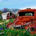 Old Red Truck by Craig Nelson